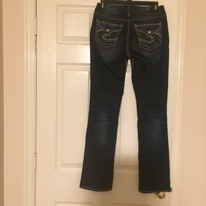 Silver brand  suki slim boot jeans size 26/31
